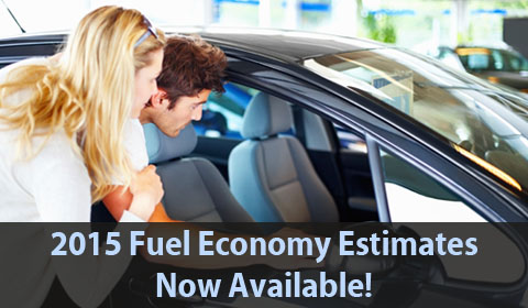 2015 Fuel Economy Estimates Now Available!