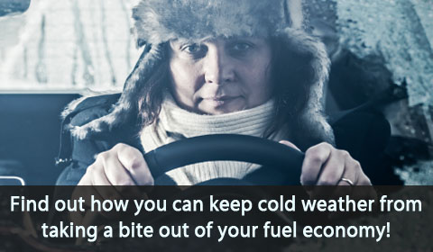 Find out how you can keep cold weather from taking a bite out of your fuel economy.