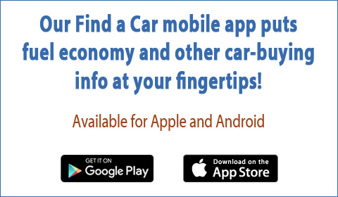 Our Find a Car mobile app puts fuel economy and other car-buying info at your fingertips! Available for both Apple and Android.