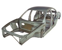 Photo of car body frame