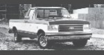 1989 Ford F250 Pickup 4WD