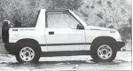 1992 Geo Tracker Convertible 4WD