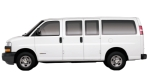 2008 Chevrolet Express 1500/2500 2WD